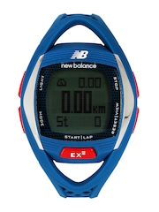 New Balance Men Blue Digital Watch