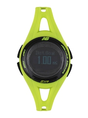 New Balance Men Lime Green Digital Watch