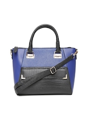 New Look Blue & Black Shoulder Bag