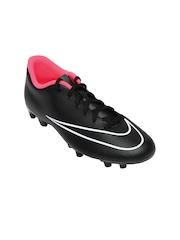 Nike Black Mercurial Vortex Ii Fg   Football  Sports Shoes