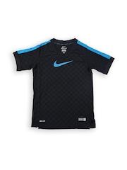 Nike Boys Black GPX B SS TOP V Football T-shirt