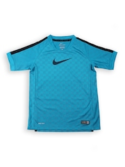 Nike Boys Blue GPX B SS TOP V Football T-shirt