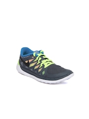 Nike Boys Grey Free 5.0 GS Sports Shoes