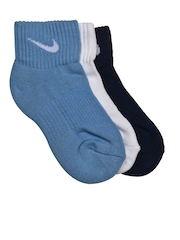 Nike Boys Set of 3 Performance Cotton Cushioned Socks