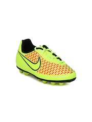 Nike Kids Fluorescent Green Magista Ola FG-R Sports Shoes