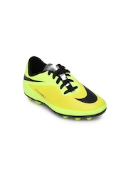 Nike Lime Green Hypervenom Phade Fg-r Football Shoes