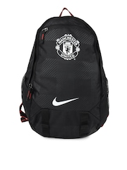 Nike Men Black Allegiance Man U Offense Compact Backpack