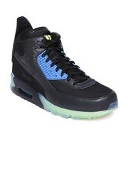 Nike Men Black Air Max 90 Sneakerboot Ice Sneakers