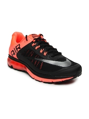 Nike Men Black Air Max Excellerate+ 2 Running Shoes