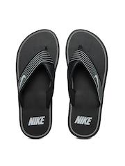 Nike Men Black Flip Flops