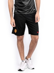 Nike Black MANU Home & Away Gk Stadium Football  Shorts