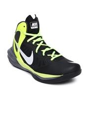 Nike Men Black Prime Hype DF Basketball Shoes