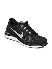 Nike Black Dual Fusion Run 3   Running  Sports Shoes