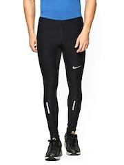 Nike Men Black AS TECH Running Tights