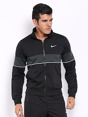 Nike Men Black Track Suit