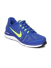 Nike Blue Dual Fusion Run 3   Running  Sports Shoes