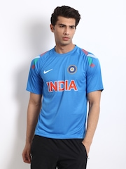 Nike Men Blue Indian Cricket Team Jersey