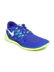 Nike Blue Free 5     Running  Sports Shoes