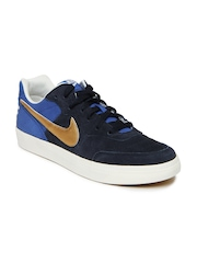 Nike Blue NSW Tiempo Trainer Casual Shoes