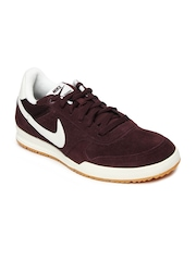 Nike Men Burgundy Field Trainer Casual Shoes