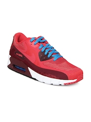 Nike Men Red Air Max 90 BR Sports Shoes