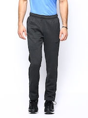Nike Men Charcoal Grey AS CHAIN FLEECE SLACKER Training Track Pants