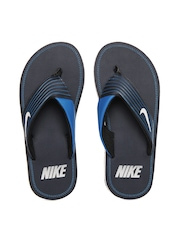Nike Men Navy Chroma Thong III Flip Flops