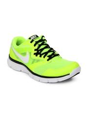 Nike Fluorescent Green Flex Experience Run 3   Running  Sports Shoes