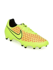 Nike Men Fluorescent Green Magista Onda FG Sports Shoes
