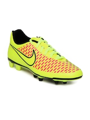 Nike Men Fluorescent Green Magista Ola FG Sports Shoes