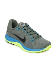 Nike Men Grey LunarGlide 5+ Sports Shoes