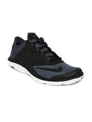 Nike Men Grey & Black FS Lite Run 2 Running Shoes