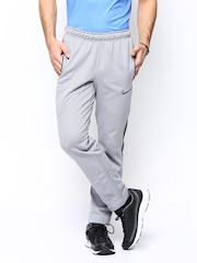 Nike Men Grey AS CHAIN FLEECE SLACKER Training Track Pants