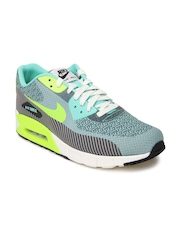 Nike Men Grey Air Max 90 JCRD PRM QS Sports Shoes