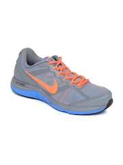 Nike Men Grey DUAL FUSION RUN 3 MSL Running Shoes