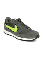 Nike Men Grey Eliminate II Leather Casual Shoes