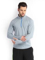 Nike Men Grey Melange Element Running T-shirt