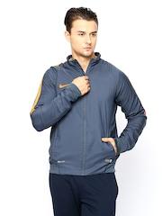 Nike Men Grey AS SQUAD REV SDLN Football Jacket
