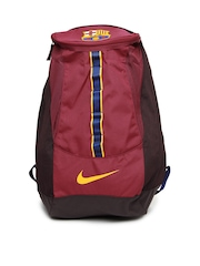 Nike Maroon Allegiance Barcelona Shield Compact 2  Football  Backpacks