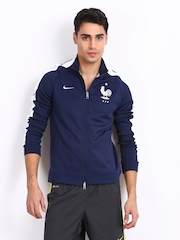 Nike Men Navy France FFF Club N98 Jacket