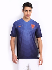 Nike Men Navy Netherlands Football Jersey