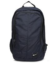 Nike Men Navy Printed Backpack