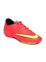 Nike Men Pink Mercurial Victory V TF Sports Shoes