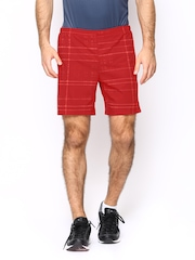 Nike Men Red AS 7 Pursuit 2-IN-1 Printed Running Shorts