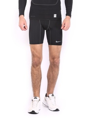 Nike Men Black Core Comp 6 Pro Combat Shorts