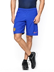 Nike Men Blue MANU FLD STADIUM Football Shorts
