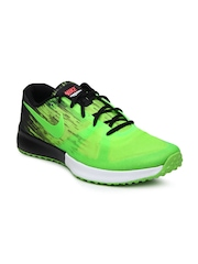 Nike Men Neon Green & Black Zoom Speed TR Sports Shoes