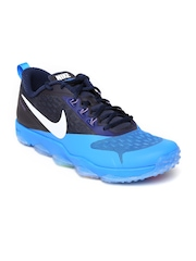 Nike Men Blue Zoom Hypercross Training Shoes