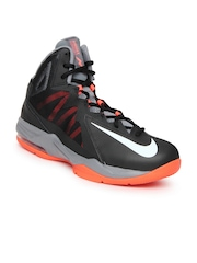 Nike Black Air Max Stutter Step 2  Basketball  Sports Shoes