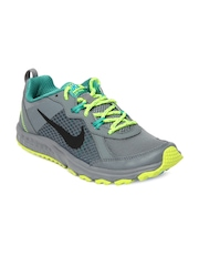 Nike Men Grey Wild Trail Running Shoes